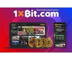 1xBit - Criptocurrency Bookmaker and Casino