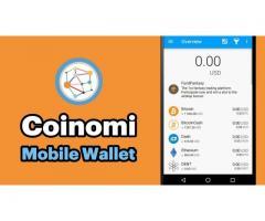 Coinomi digital Cryptocurrency Wallet