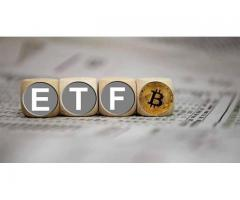 What has prevented the creation of a pure Bitcoin ETF?